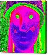 Banged Up Beatnick Acrylic Print