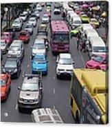 Bangkok Street View  Acrylic Print