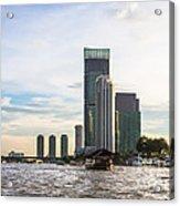 Bangkok Towers Acrylic Print