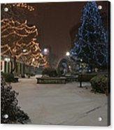 Bangor Maine Christmas Acrylic Print
