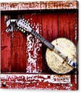Banjo Mandolin - American Music Acrylic Print
