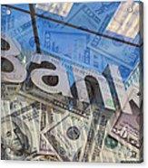 Bank Acrylic Print