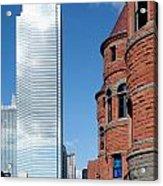 Bank Of America Plaza Dallas Acrylic Print