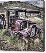 Bannack Ghost Town Truck - Montana Acrylic Print