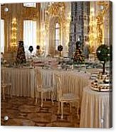 Banquet Room Summer Palace St Petersburg Russia Acrylic Print