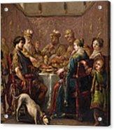 Banquet Scene Acrylic Print