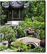 Bansi Garden Acrylic Print