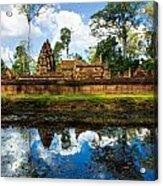 Banteay Srei - Angkor Wat - Cambodia Acrylic Print