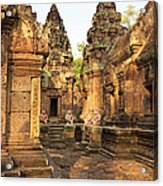 Banteay Srei, Cambodia Acrylic Print