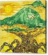 Banyan And Two Suns Acrylic Print