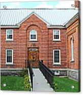 Baptist Church Acrylic Print by Stephanie Grooms