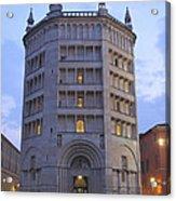 Baptistery Of Parma Acrylic Print
