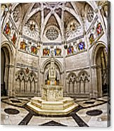 Baptistry At Saint John The Divine Cathedral Acrylic Print