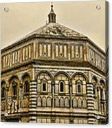 Baptistry - Florence Italy Acrylic Print