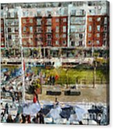 Bar 38 Gunwharf Quays Acrylic Print