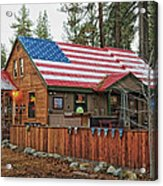 Bar And Grill In South Lake Tahoe Acrylic Print