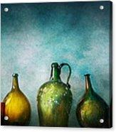 Bar - Bottles - Green Bottles  Acrylic Print