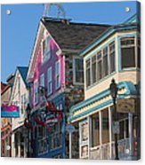 Bar Harbor Downtown  Acrylic Print