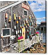 Bar Harbor Restaurant Acrylic Print