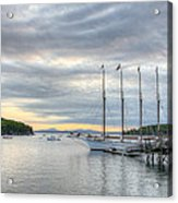 Bar Harbor Sunrise Acrylic Print