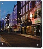 Bar Italia Soho London Acrylic Print
