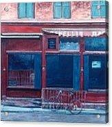 Bar Soho Acrylic Print by Anthony Butera