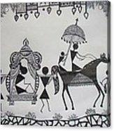 Baraat - The Wedding Procession Acrylic Print