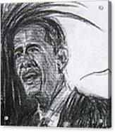 Barack Obama 1 Acrylic Print