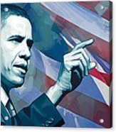 Barack Obama Artwork 2 Acrylic Print