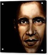 Barack Obama - New Day Acrylic Print