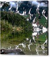 Baranof Lake Acrylic Print by Robert Bales