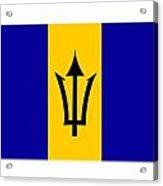 Barbados Flag  Acrylic Print