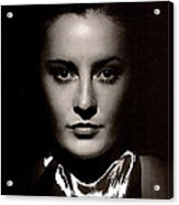 Barbara Stanwyck Early In Her Career C.1933-2014 Acrylic Print