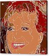 Barbara Walters Acrylic Print