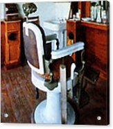 Barber - Barber Chair And Cash Register Acrylic Print