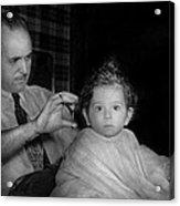 Barber - First Haircut Acrylic Print