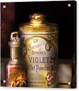 Barber -  Sharp And Dohmes Violet Toilet Powder  Acrylic Print