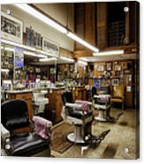 Barber Shop In Montgomery Alabama Acrylic Print