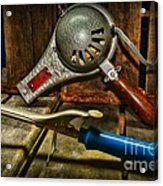Barber - Vintage Hair Care Acrylic Print