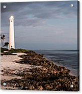 Barbers Point Lighthouse Acrylic Print by Jason Bartimus