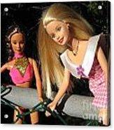 Barbie Escapes Acrylic Print