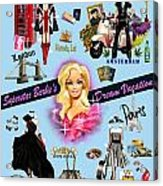 Barbie's Superstar Dream Vacation Acrylic Print