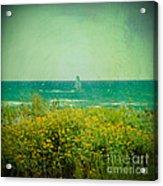 Barcelona  Gava Beach  Acrylic Print