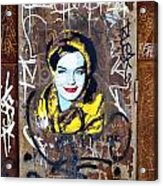 Barcelona Graffiti 3 Acrylic Print