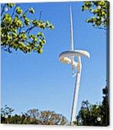 Barcelona Tv Tower/sun Dial Acrylic Print
