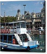 Barcelona Waterfront Acrylic Print