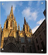 Barcelona's Marvelous Architecture - Cathedral Of The Holy Cross And Saint Eulalia Acrylic Print