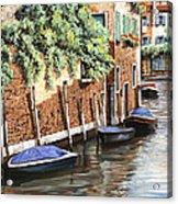 Barche A Venezia Acrylic Print