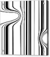 Barcode  C2014 Acrylic Print by Paul Ashby
