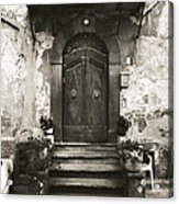 Barga Door Acrylic Print